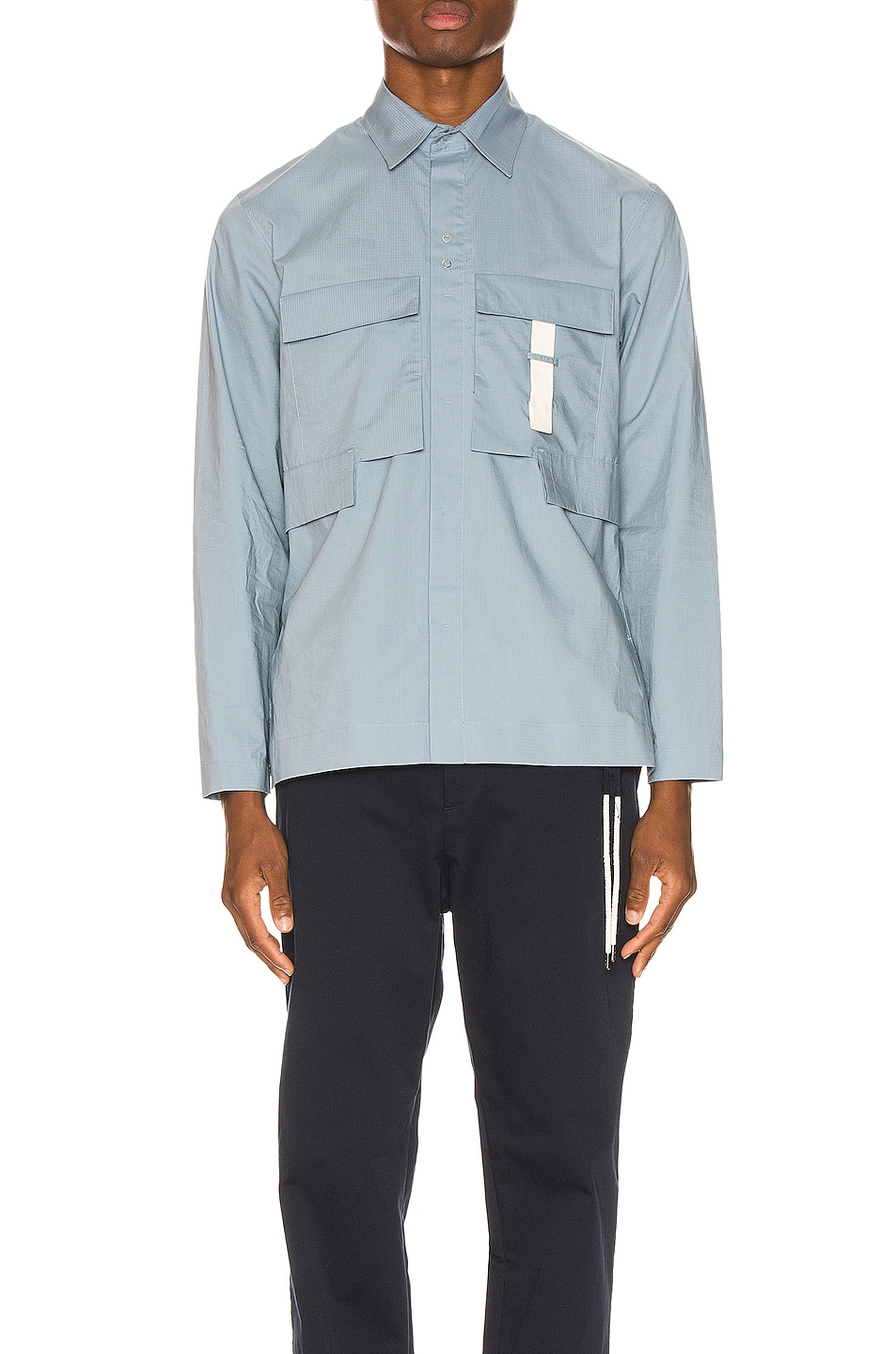 Image 1 of Craig Green Ripstop Shirt in Light Blue