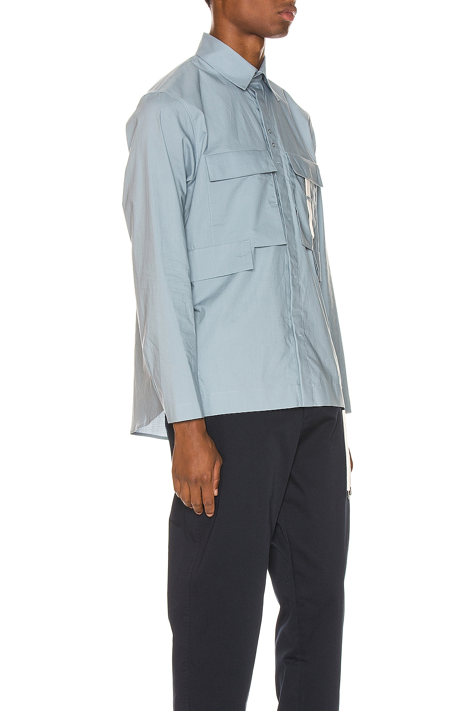 Image 2 of Craig Green Ripstop Shirt in Light Blue