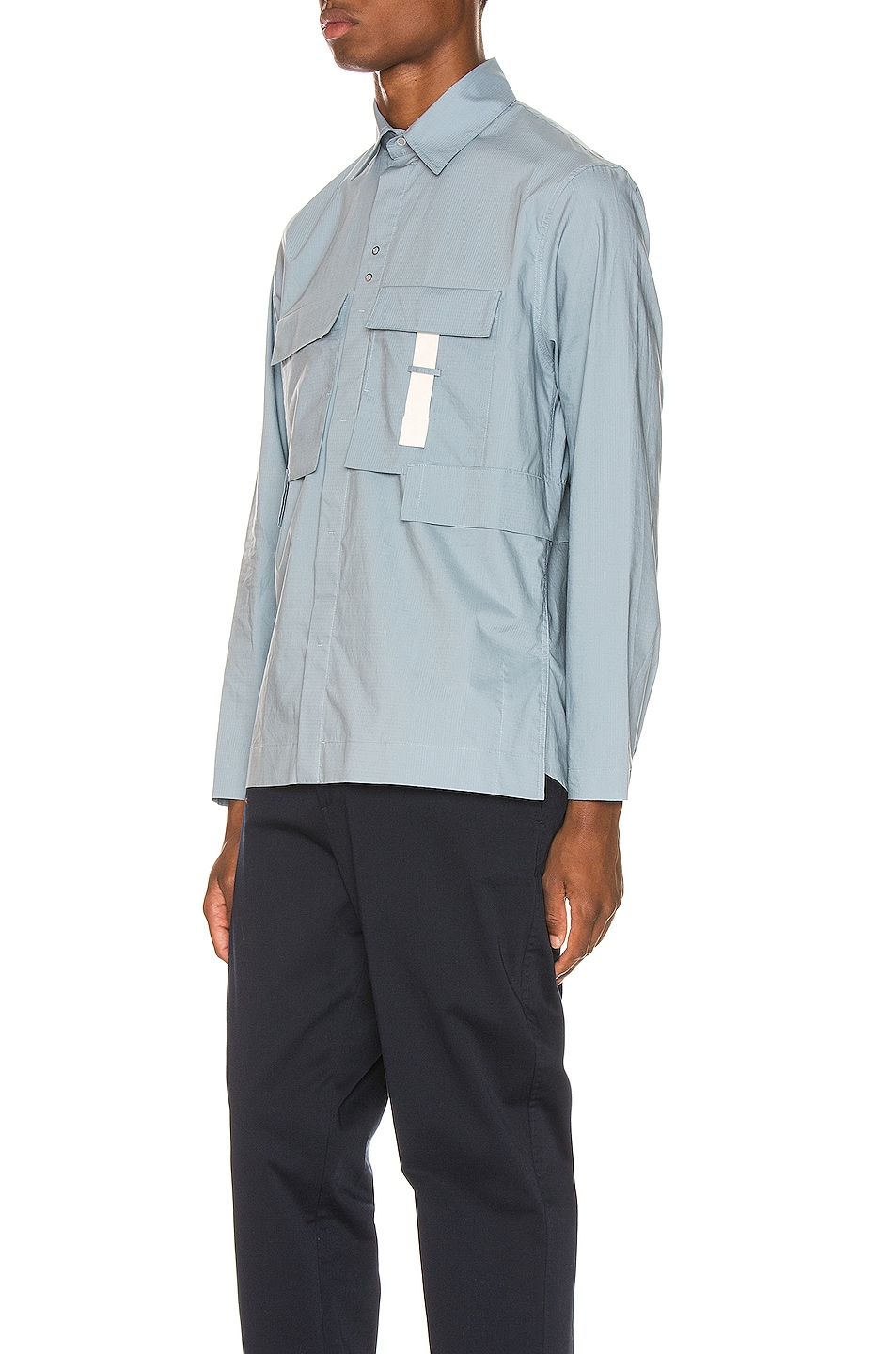 Image 3 of Craig Green Ripstop Shirt in Light Blue