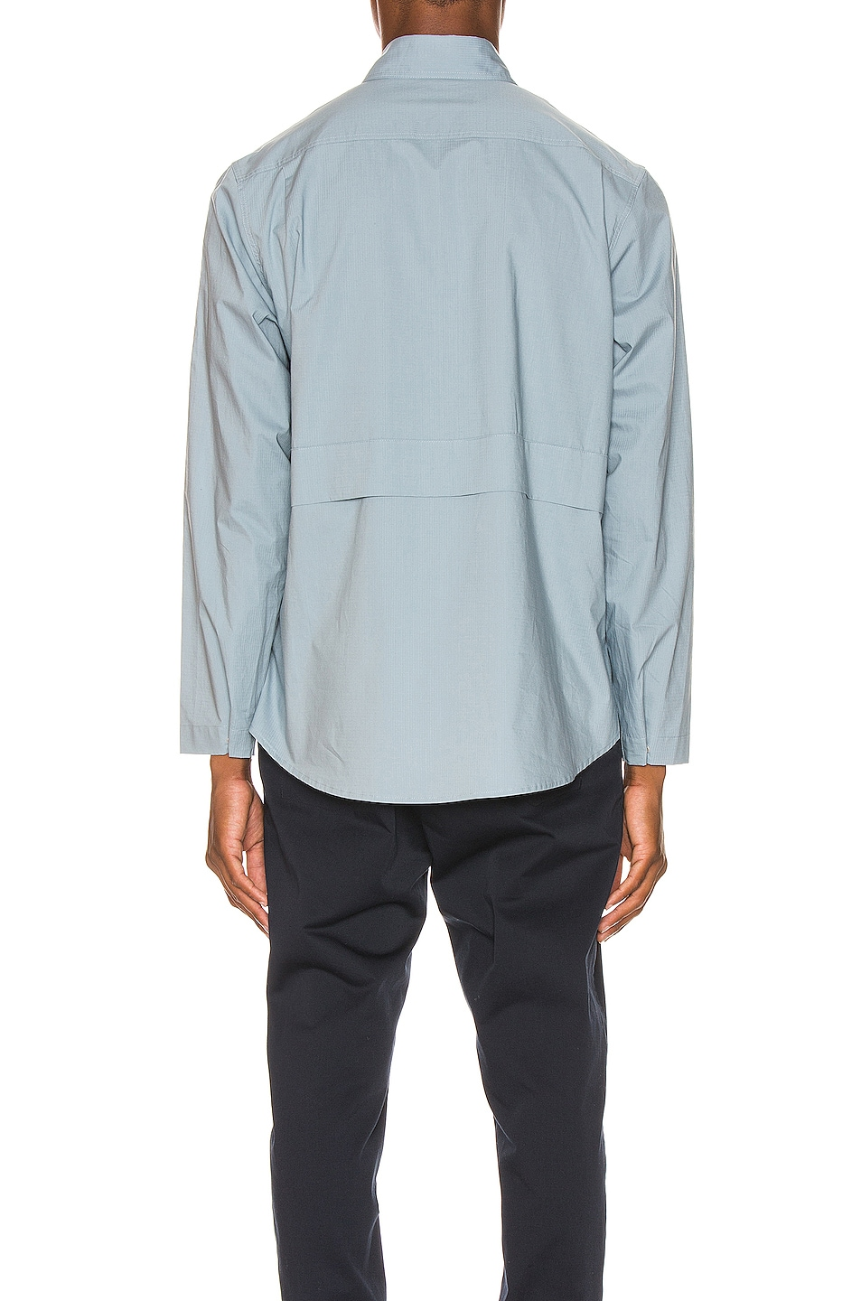 Image 4 of Craig Green Ripstop Shirt in Light Blue