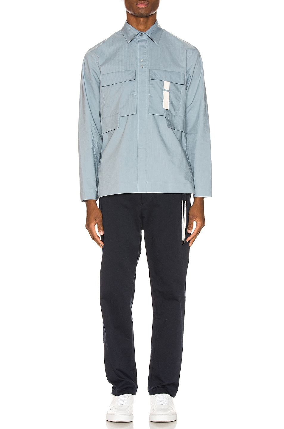 Image 5 of Craig Green Ripstop Shirt in Light Blue