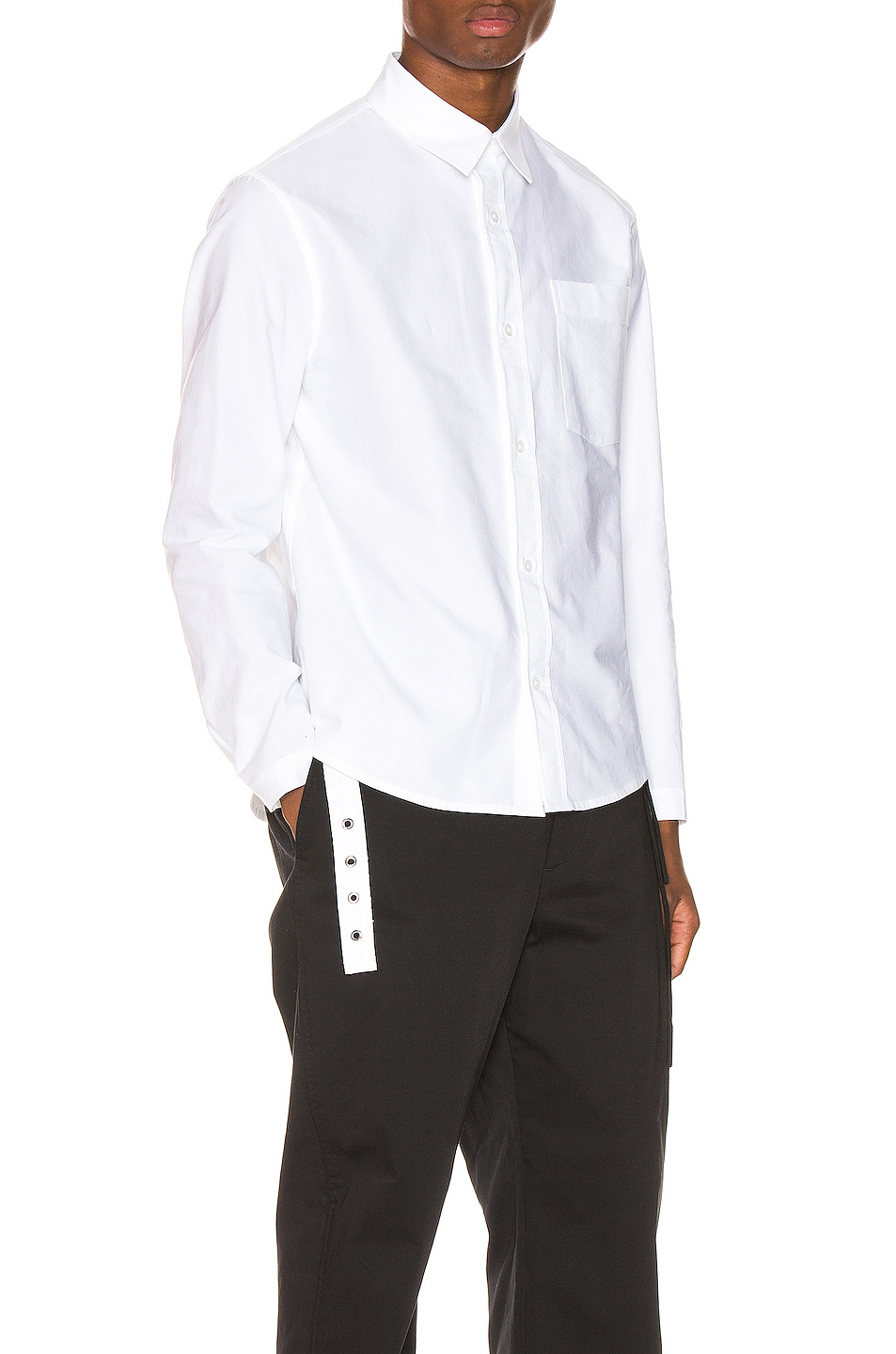 Image 1 of Craig Green Oxford Shirt in White