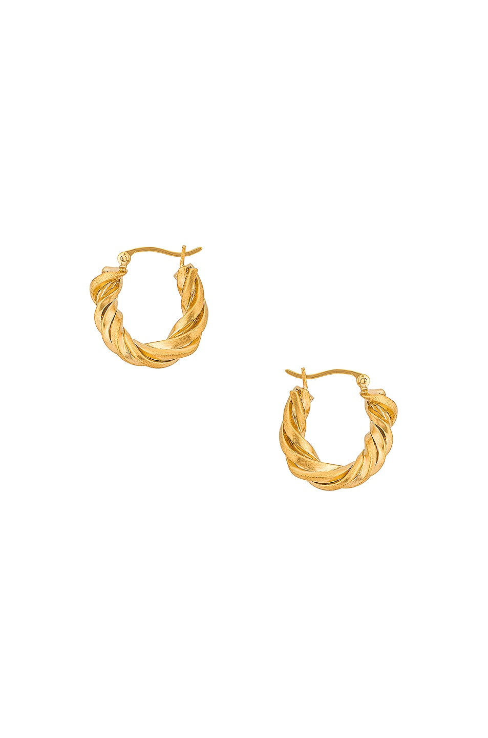 Image 1 of Completedworks Deep State Earrings in Gold