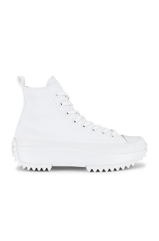 Image 1 of Converse Run Star Hike Platform in White