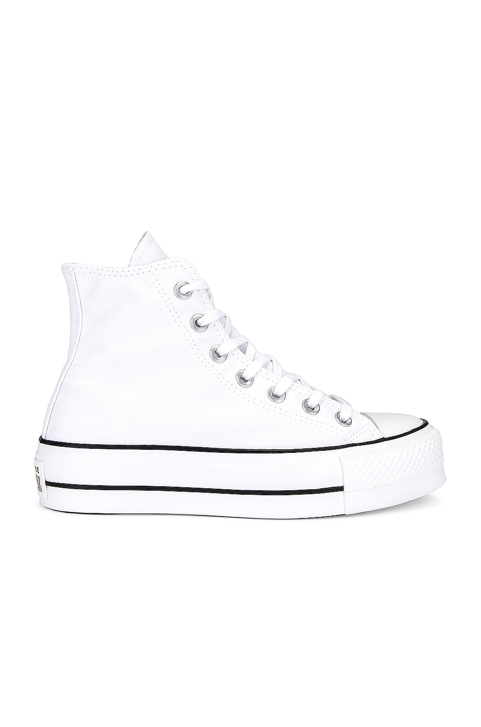 Image 1 of Converse Chuck Taylor All Star Lift Hi in White
