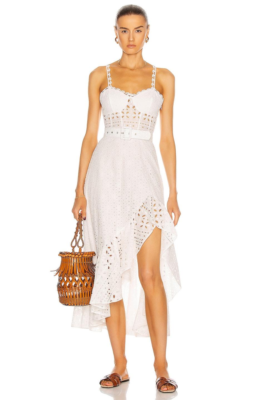 Image 1 of Charo Ruiz Ibiza Julie Dress in White