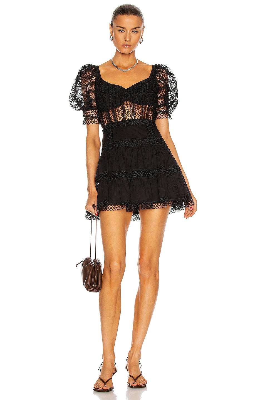 Image 1 of Charo Ruiz Ibiza Katharine Dress in Black