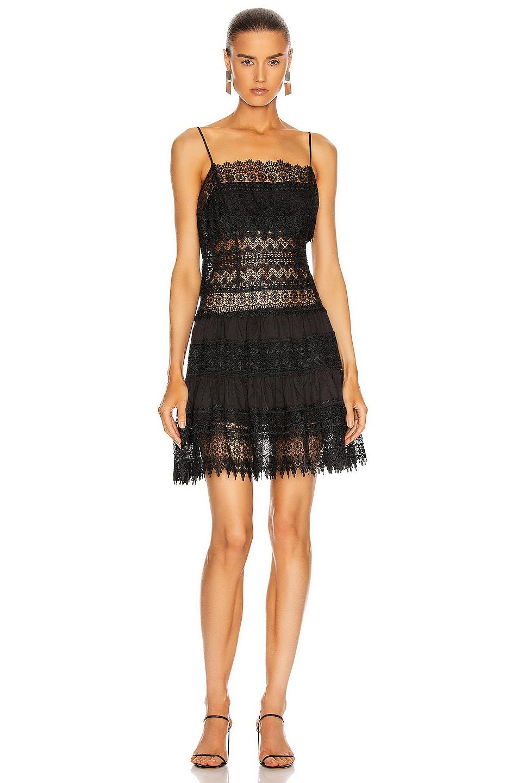 Image 1 of Charo Ruiz Ibiza Joya Dress in Black