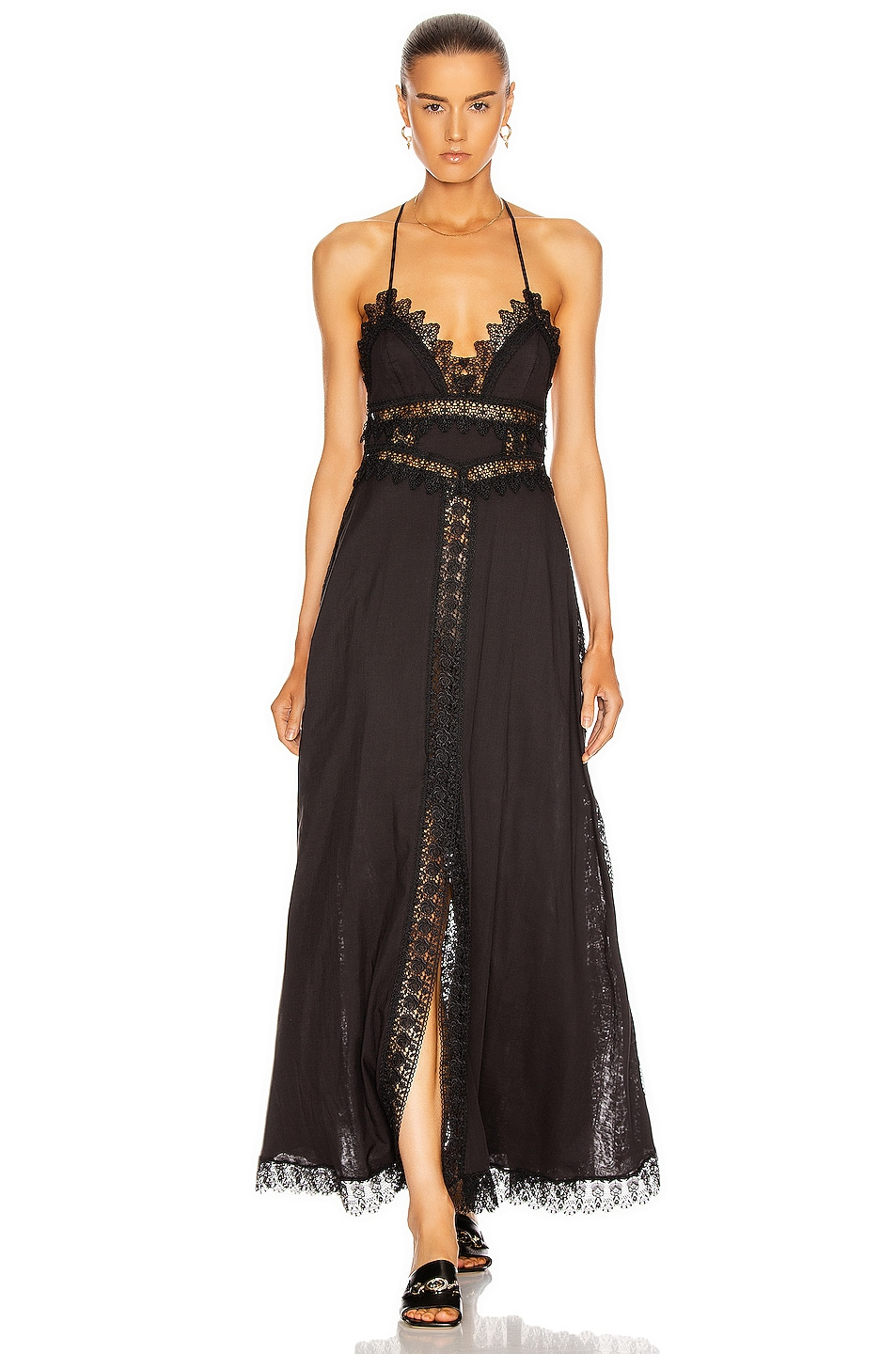 Image 1 of Charo Ruiz Ibiza Imagen Dress in Black