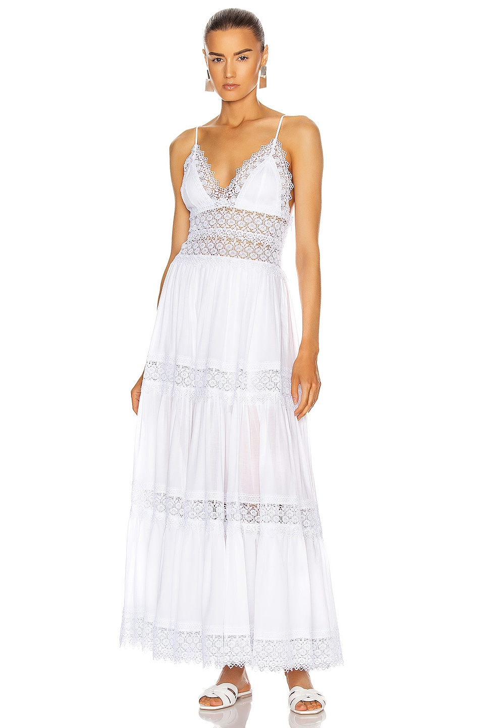 Image 1 of Charo Ruiz Ibiza Cindy Dress in White