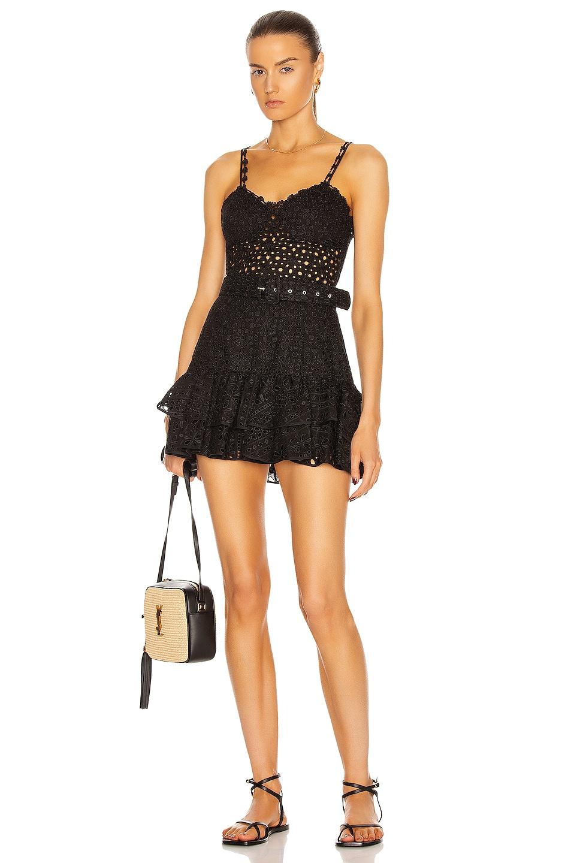 Image 1 of Charo Ruiz Ibiza Marianne Dress in Black