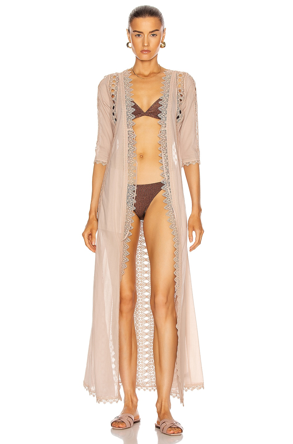 Image 1 of Charo Ruiz Ibiza Ali Jacket in Nude