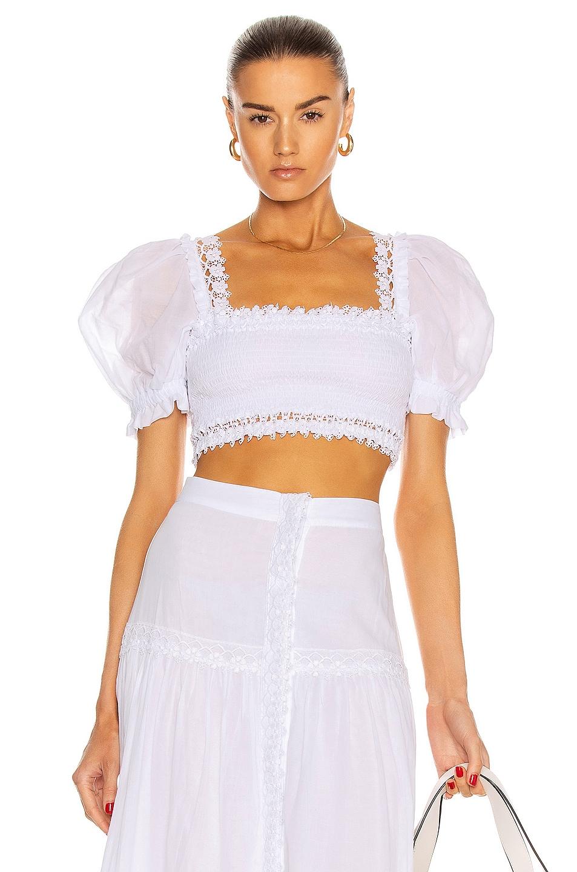 Image 1 of Charo Ruiz Ibiza Judy Top in White