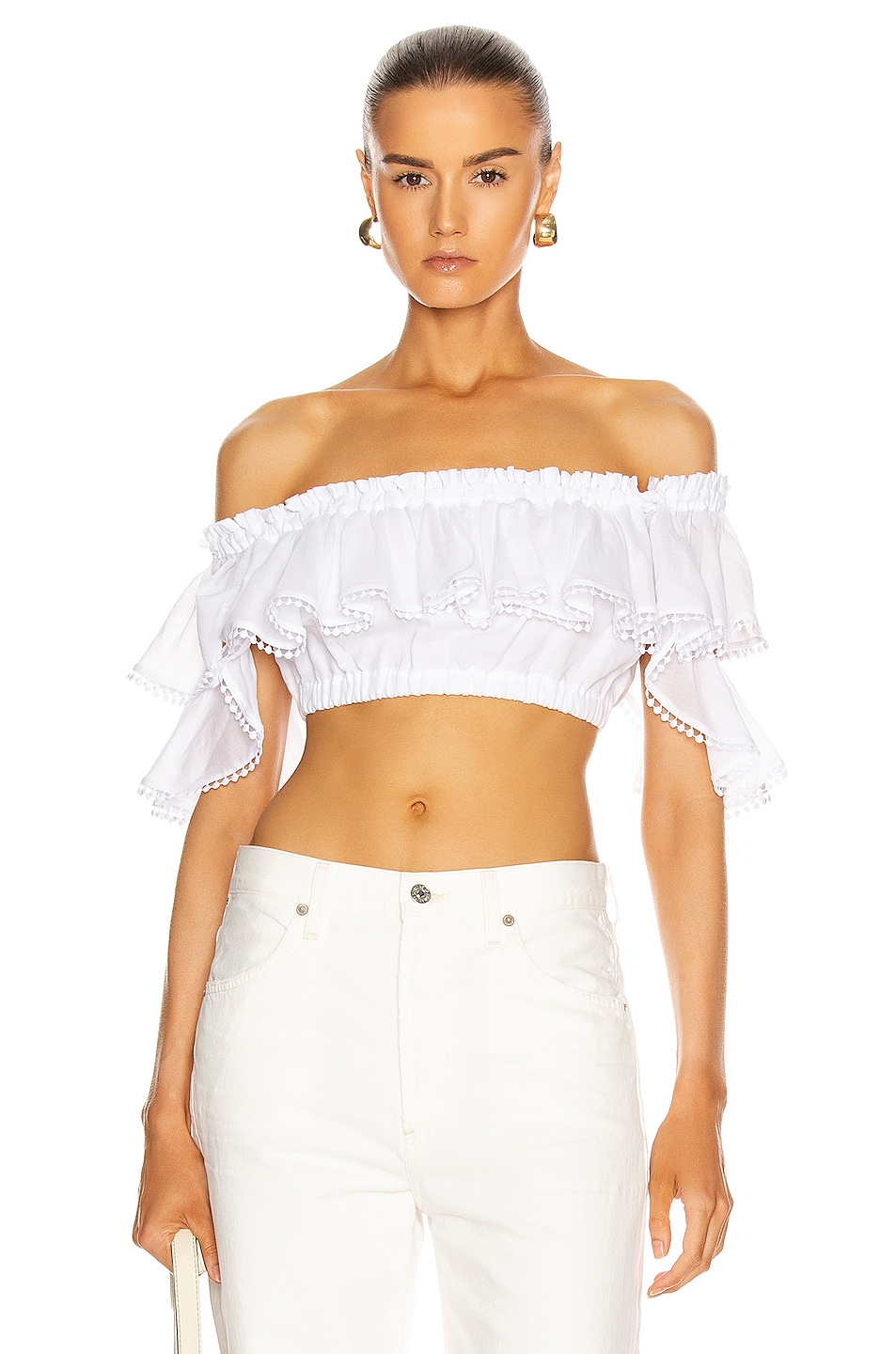 Image 1 of Charo Ruiz Ibiza Cata Top in White