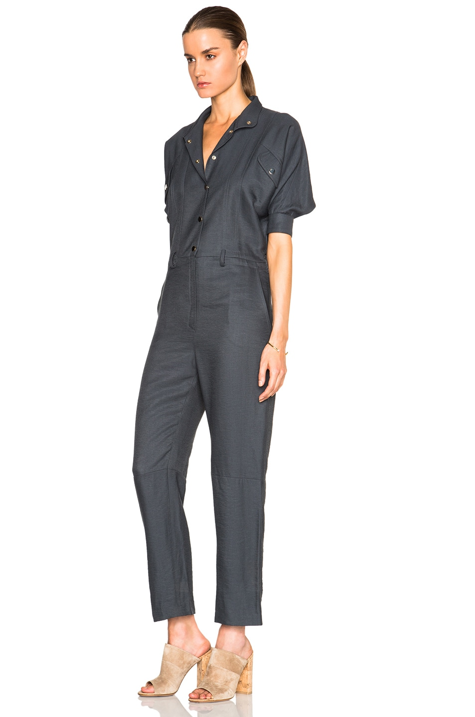 Image 2 of Carolina Ritz Charles 85 Jumpsuit in Blue