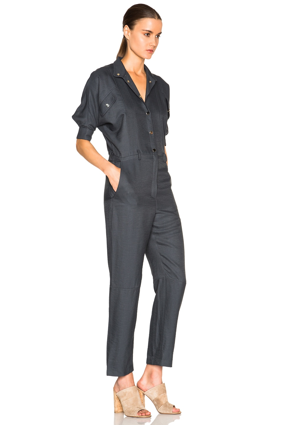 Image 3 of Carolina Ritz Charles 85 Jumpsuit in Blue