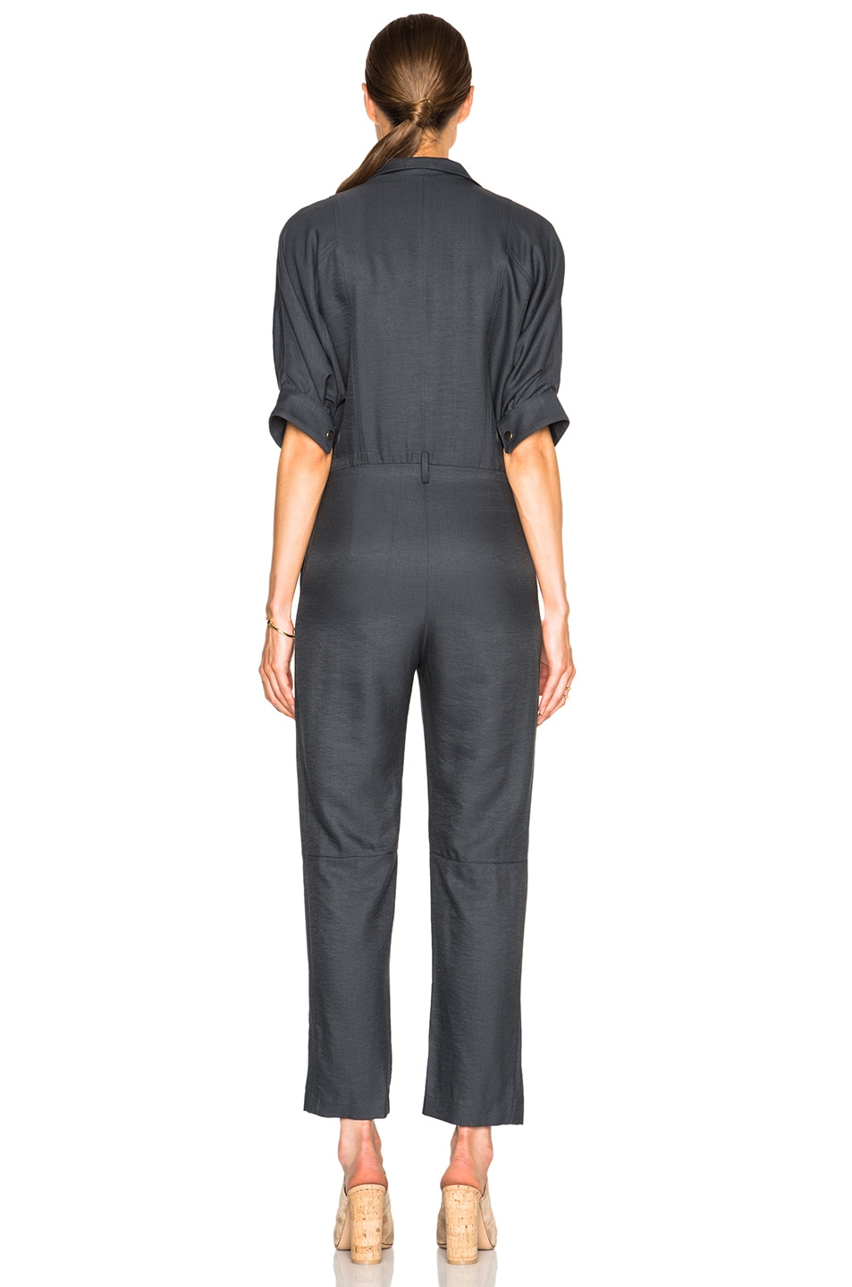 Image 4 of Carolina Ritz Charles 85 Jumpsuit in Blue