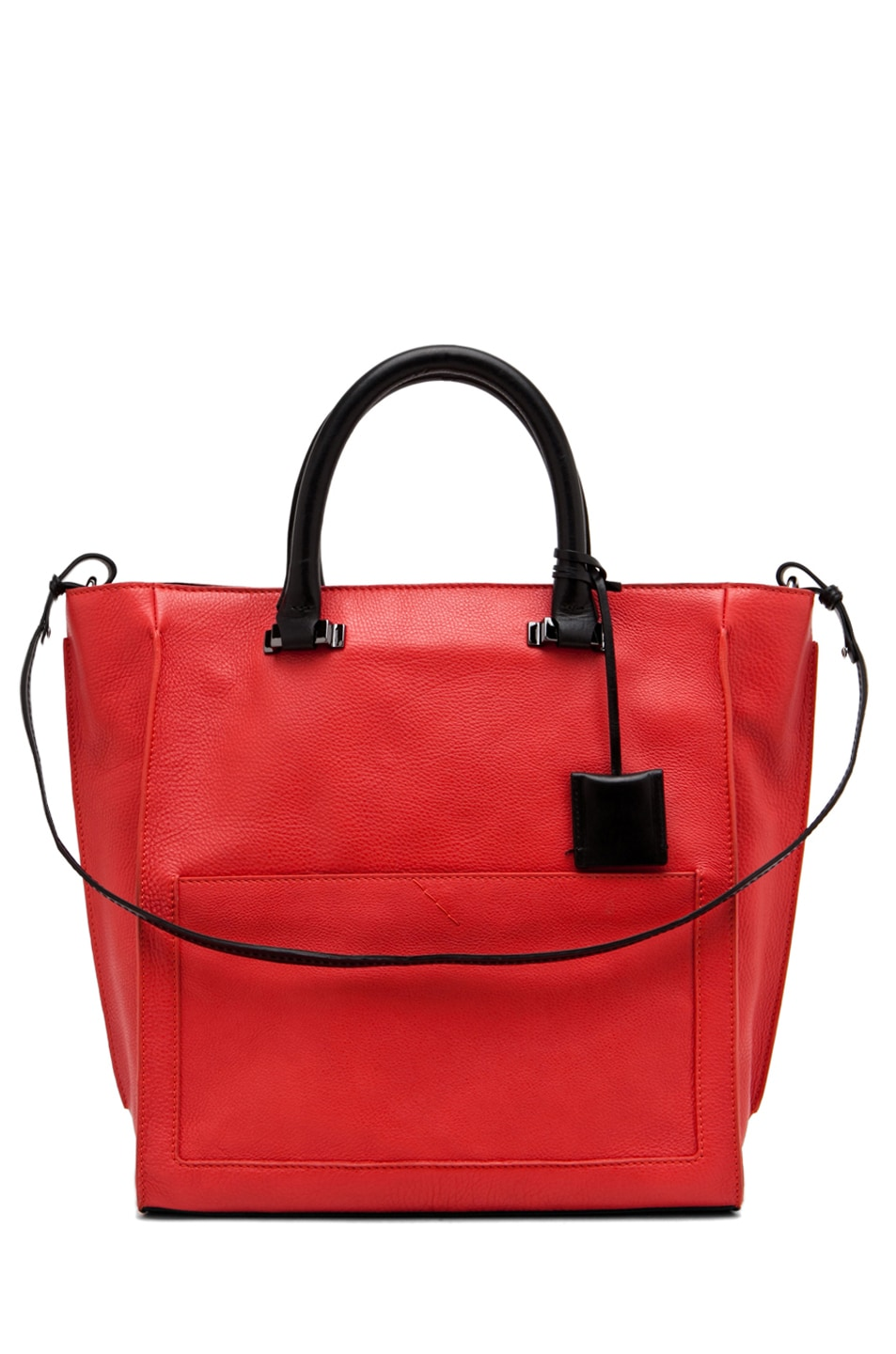 Image 1 of CoSTUME NATIONAL Tote in Red