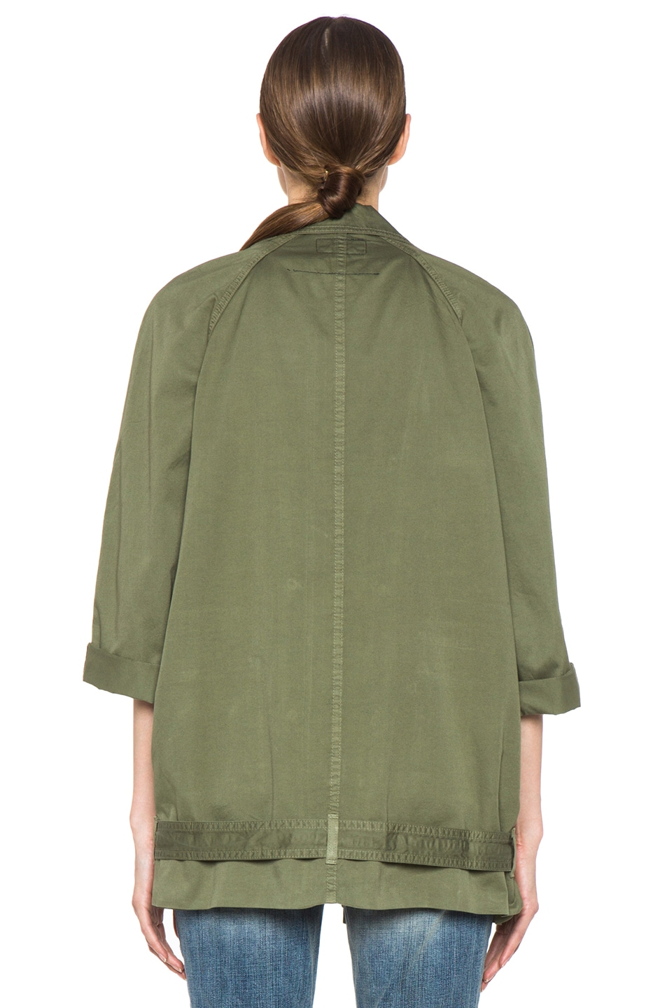 Image 5 of Current/Elliott The Infantry Cotton Jacket in Army