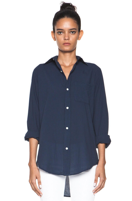 Image 1 of Current/Elliott The Prep School Shirt in Indigo
