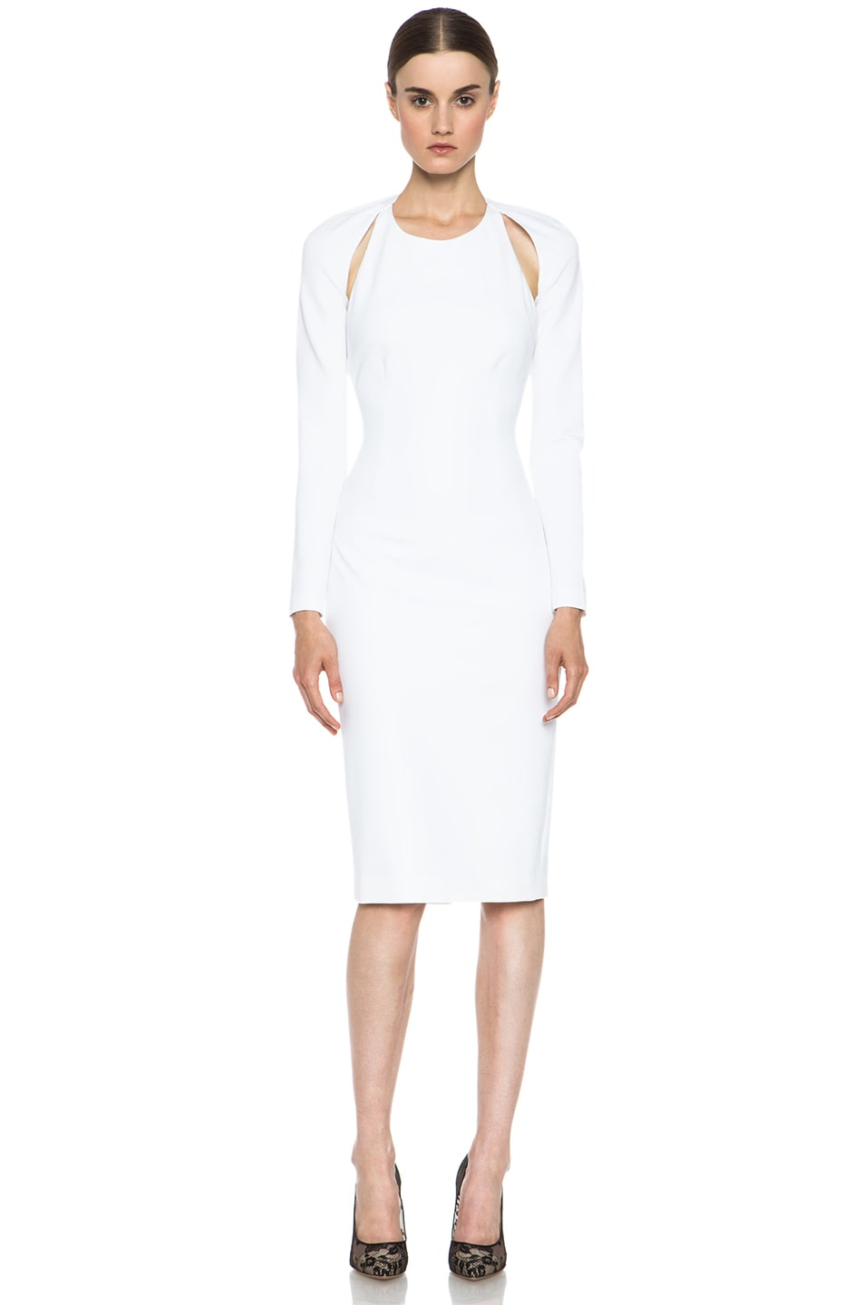 Image 1 of Cushnie et Ochs Oscar Dress in White