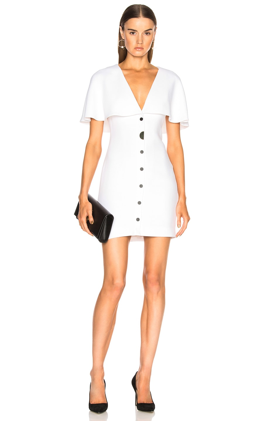 Cushnie et Ochs Celia Dress in White