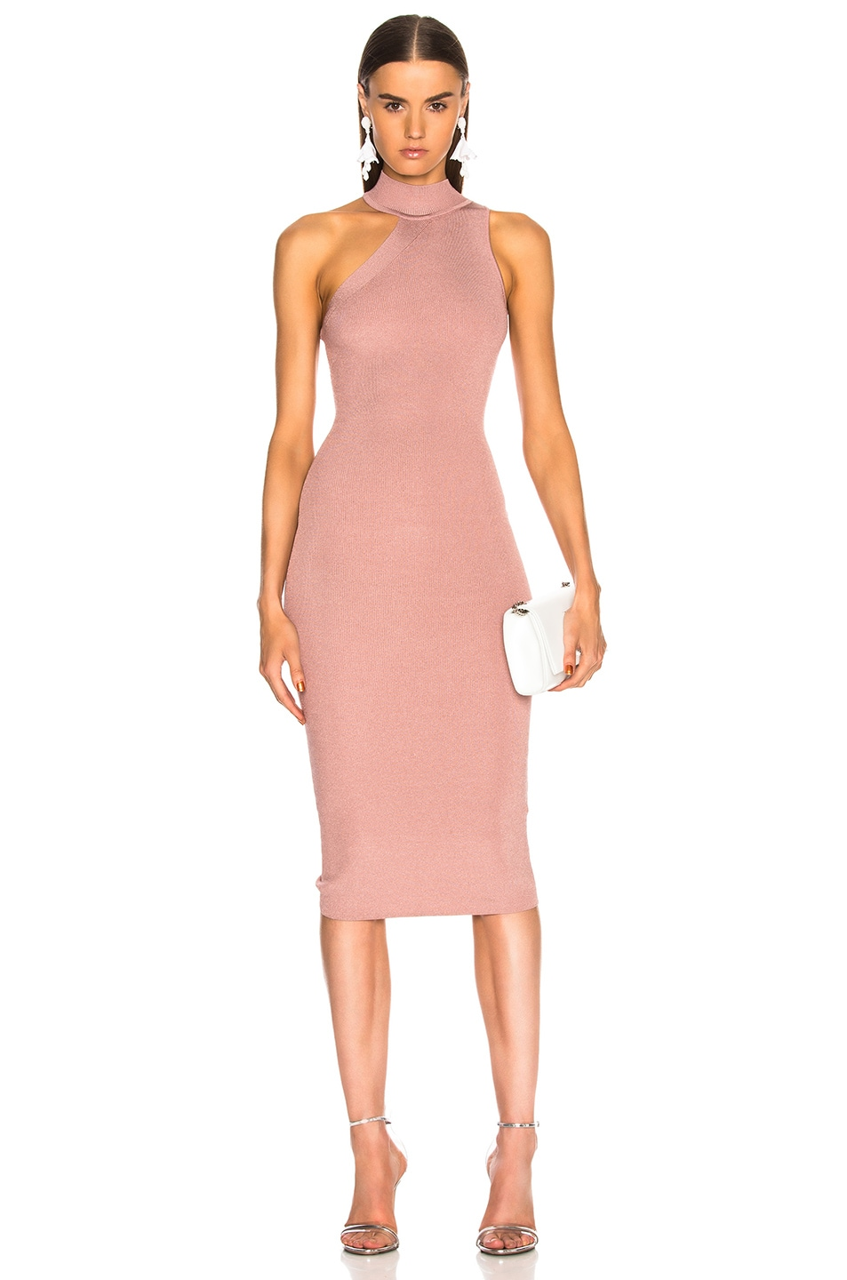 Cushnie et Ochs Baila Dress in Pink