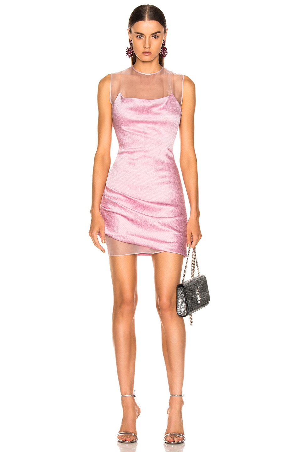 Image 1 of Cushnie Viera Dress in Peony