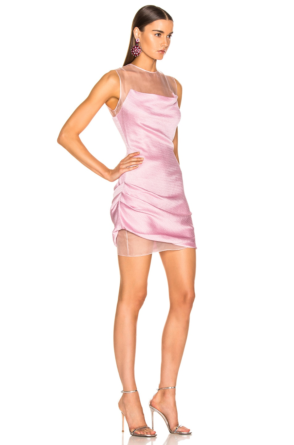Image 2 of Cushnie Viera Dress in Peony