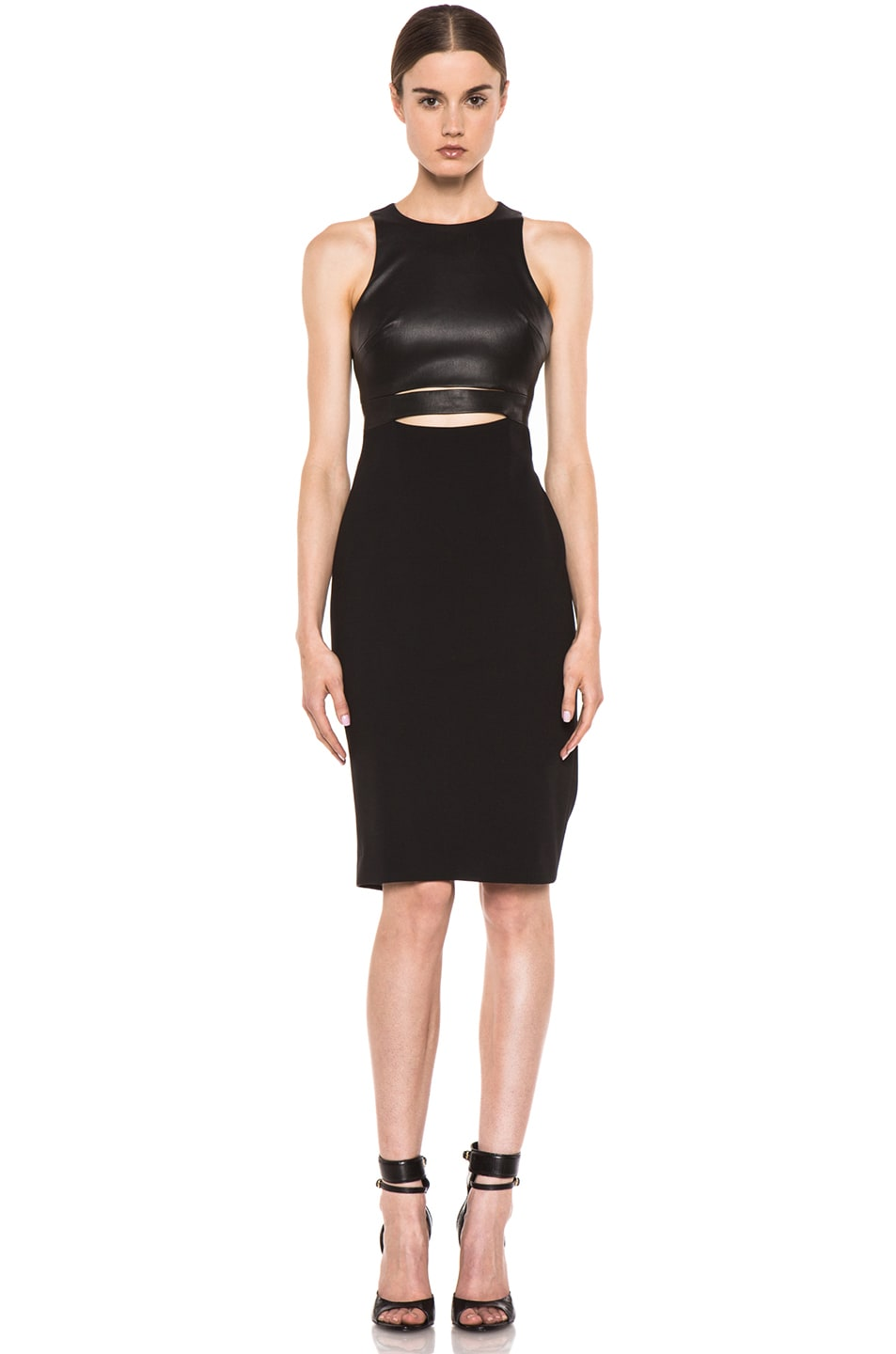 Image 1 of Cushnie et Ochs Michelle Ochs Dress in Black