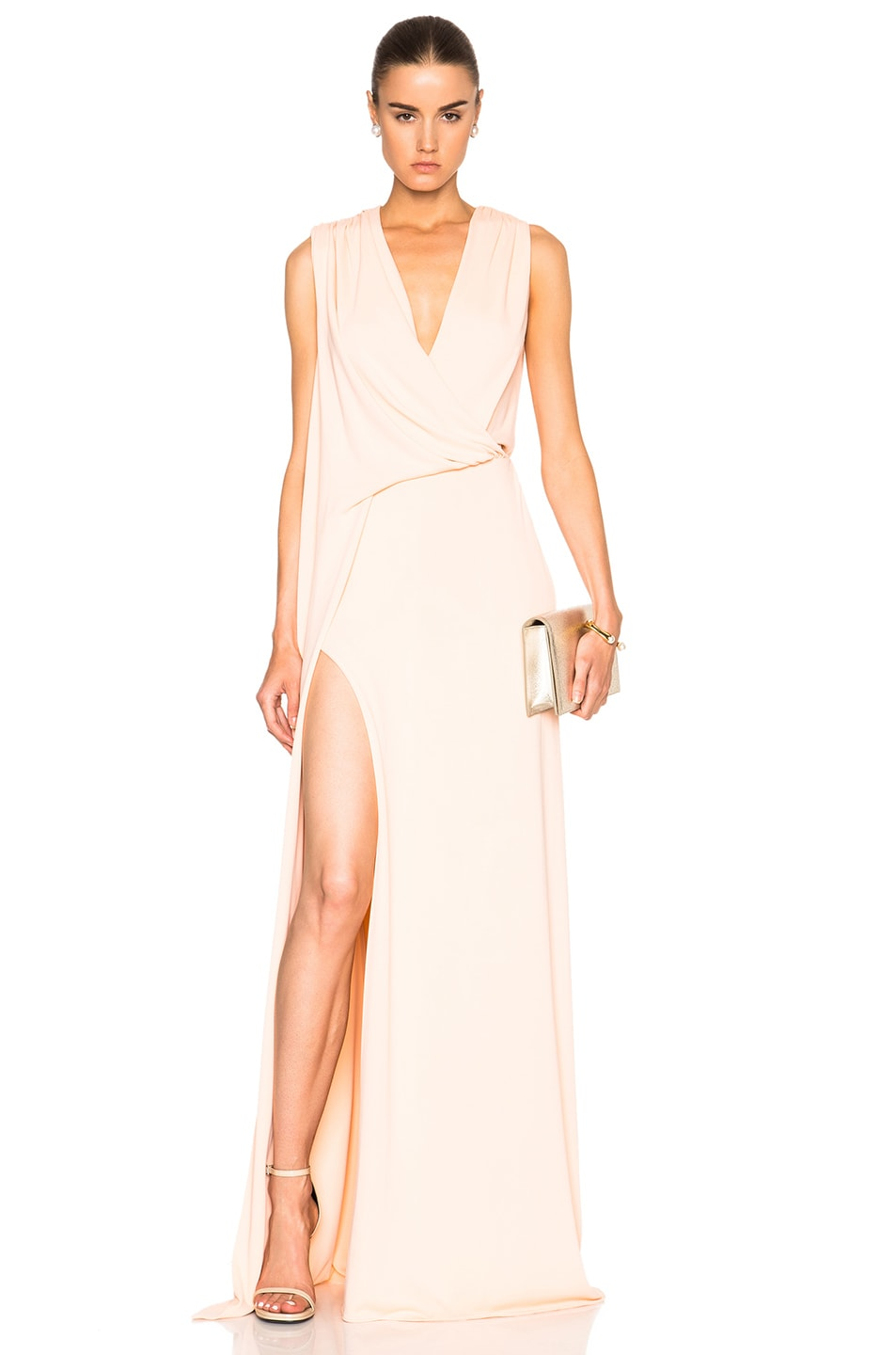Image 1 of Cushnie et Ochs Ibiza Dress in Peach