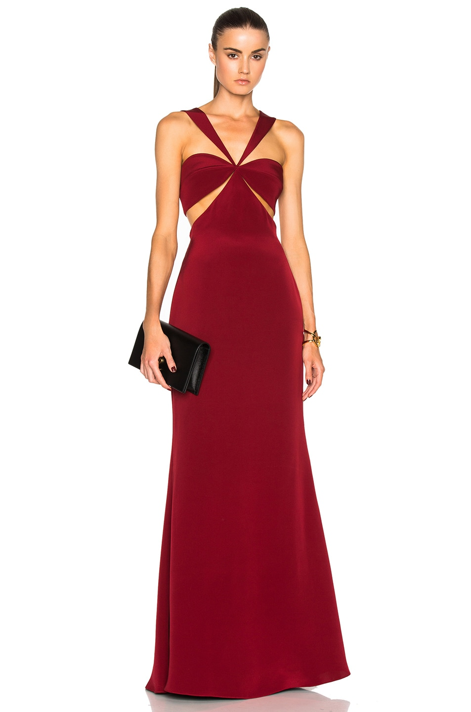 Image 1 of Cushnie et Ochs Eva Gown in Ruby
