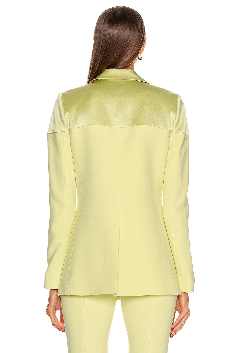 Image 3 of Cushnie Fitted Jacket in Celery