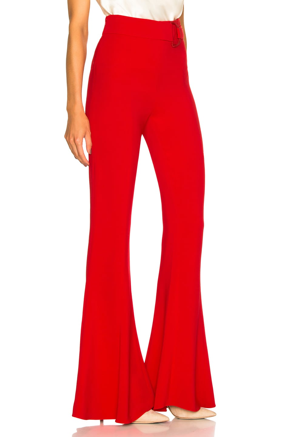 Image 2 of Cushnie Carina Pant in Poppy