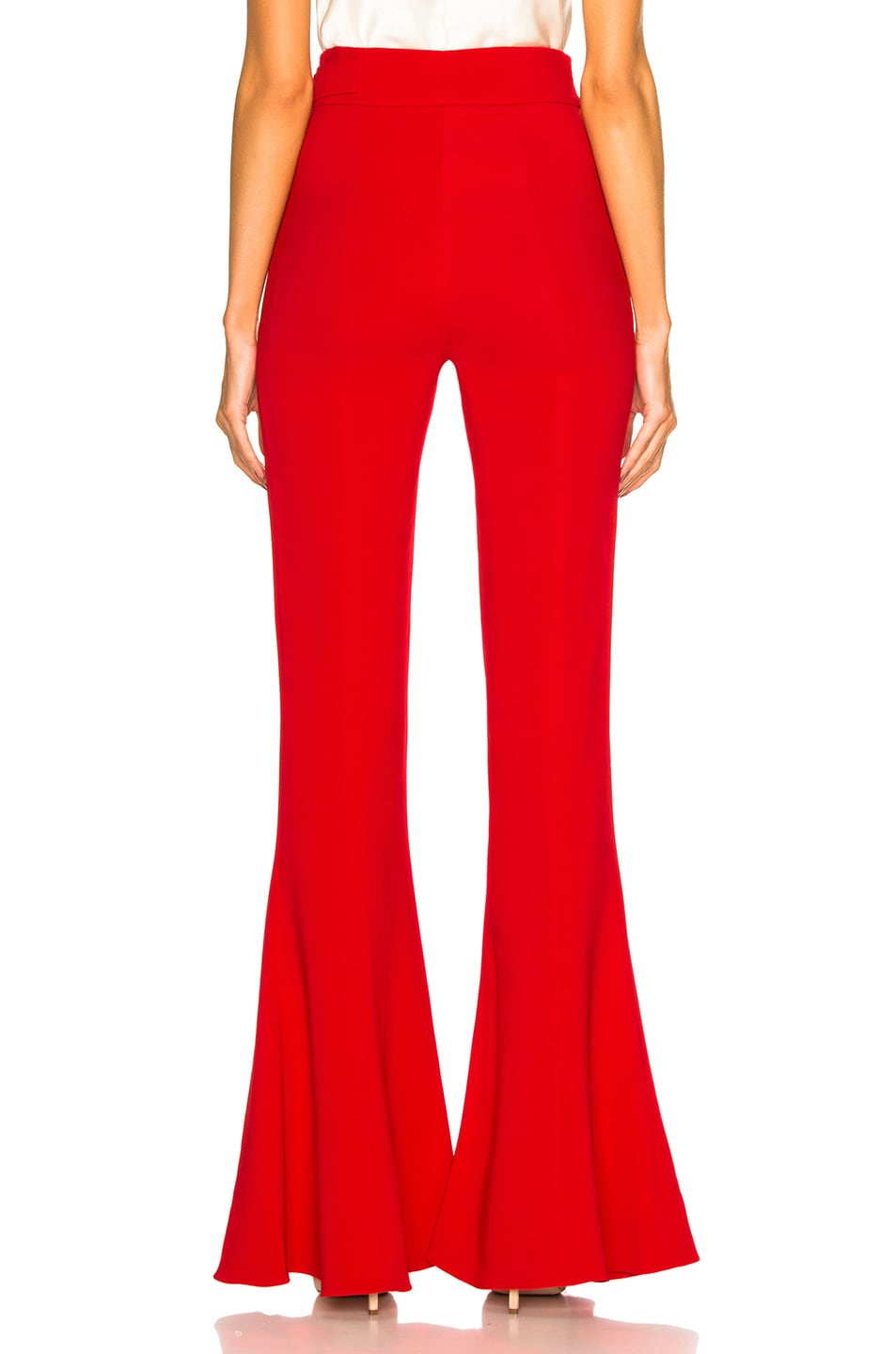 Image 3 of Cushnie Carina Pant in Poppy
