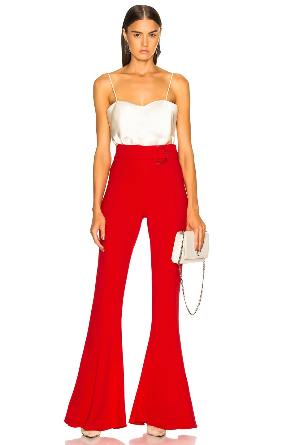 Image 4 of Cushnie Carina Pant in Poppy