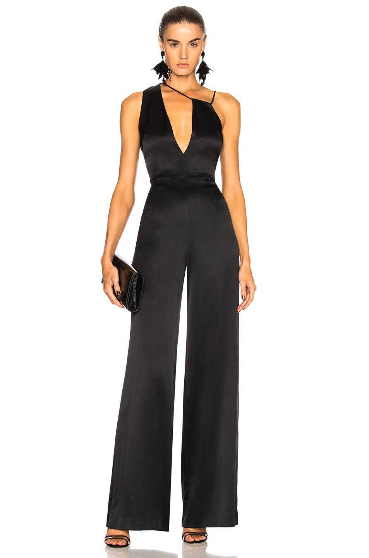 Image 1 of Cushnie et Ochs Valetta Jumpsuit in Black
