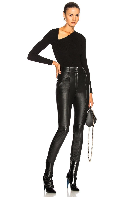 Image 6 of Cushnie Vivian Bodysuit in Black