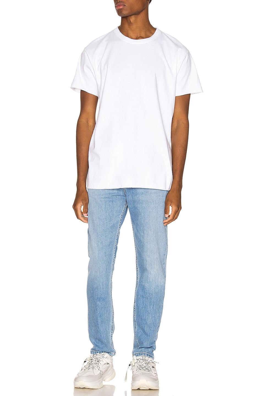 Image 4 of Calvin Klein Est. 1978 Narrow Denim Jean in Blue Moon