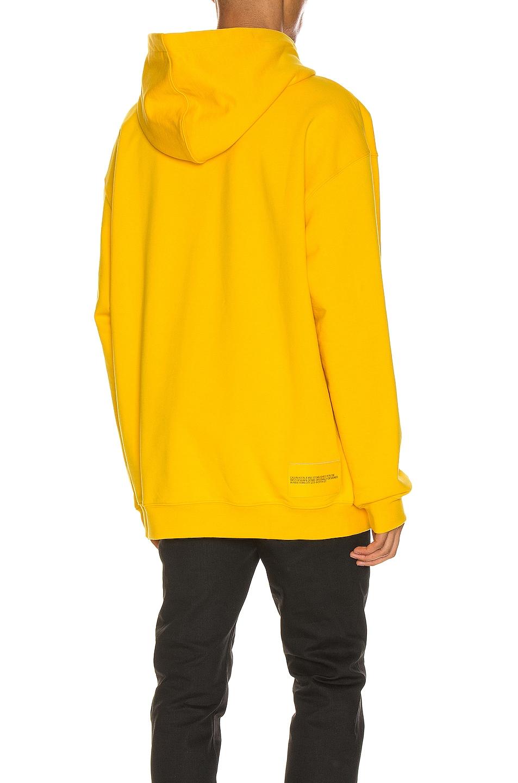 Image 4 of Calvin Klein Est. 1978 Moon Landings Hoodie in Lemon Chrome