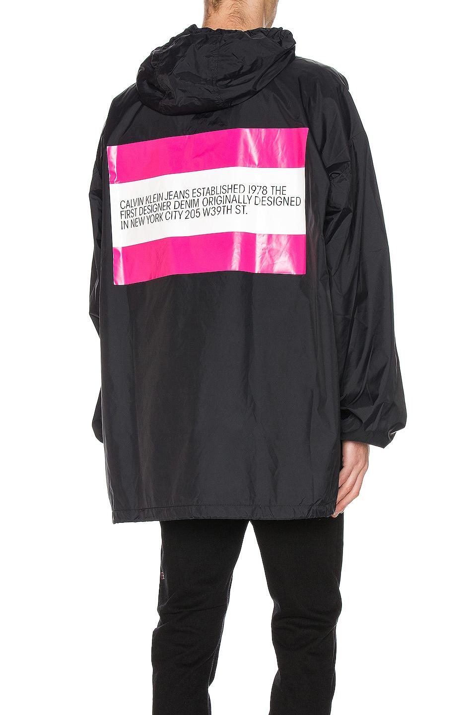 Image 1 of Calvin Klein Est. 1978 Logo Hoodie in Black & Pink