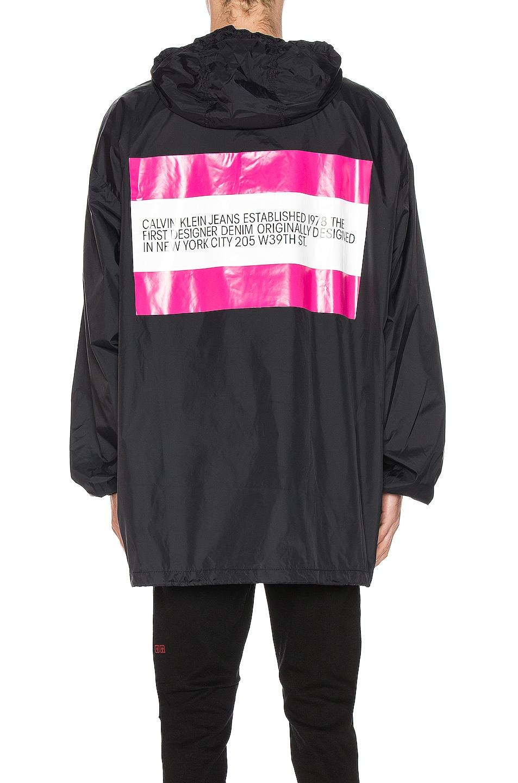 Image 4 of Calvin Klein Est. 1978 Logo Hoodie in Black & Pink
