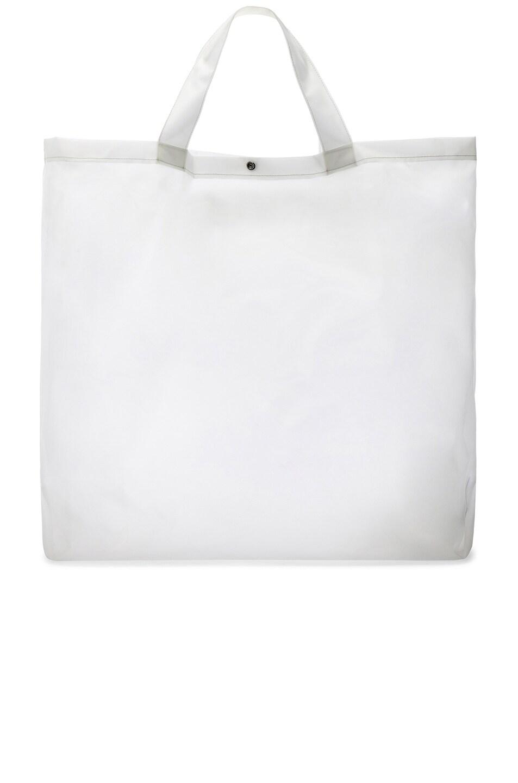 Image 3 of Calvin Klein Est. 1978 Logo Big Tote in Transparent