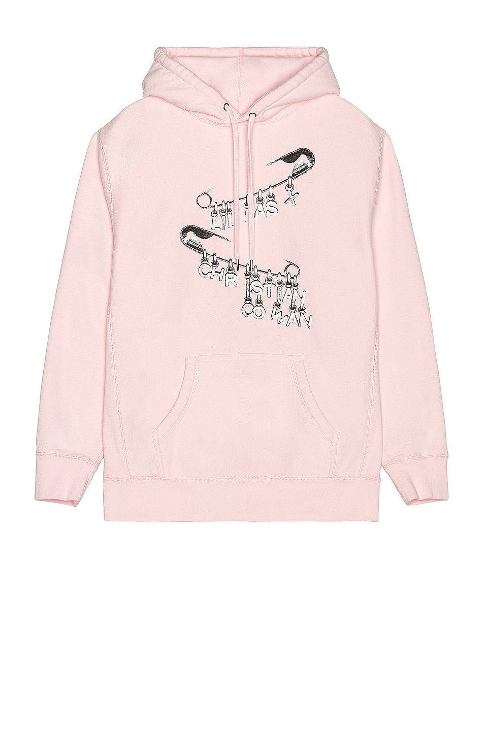 Image 1 of CHRISTIAN COWAN x Lil Nas Safety Pin Sweatshirt in Pink 3