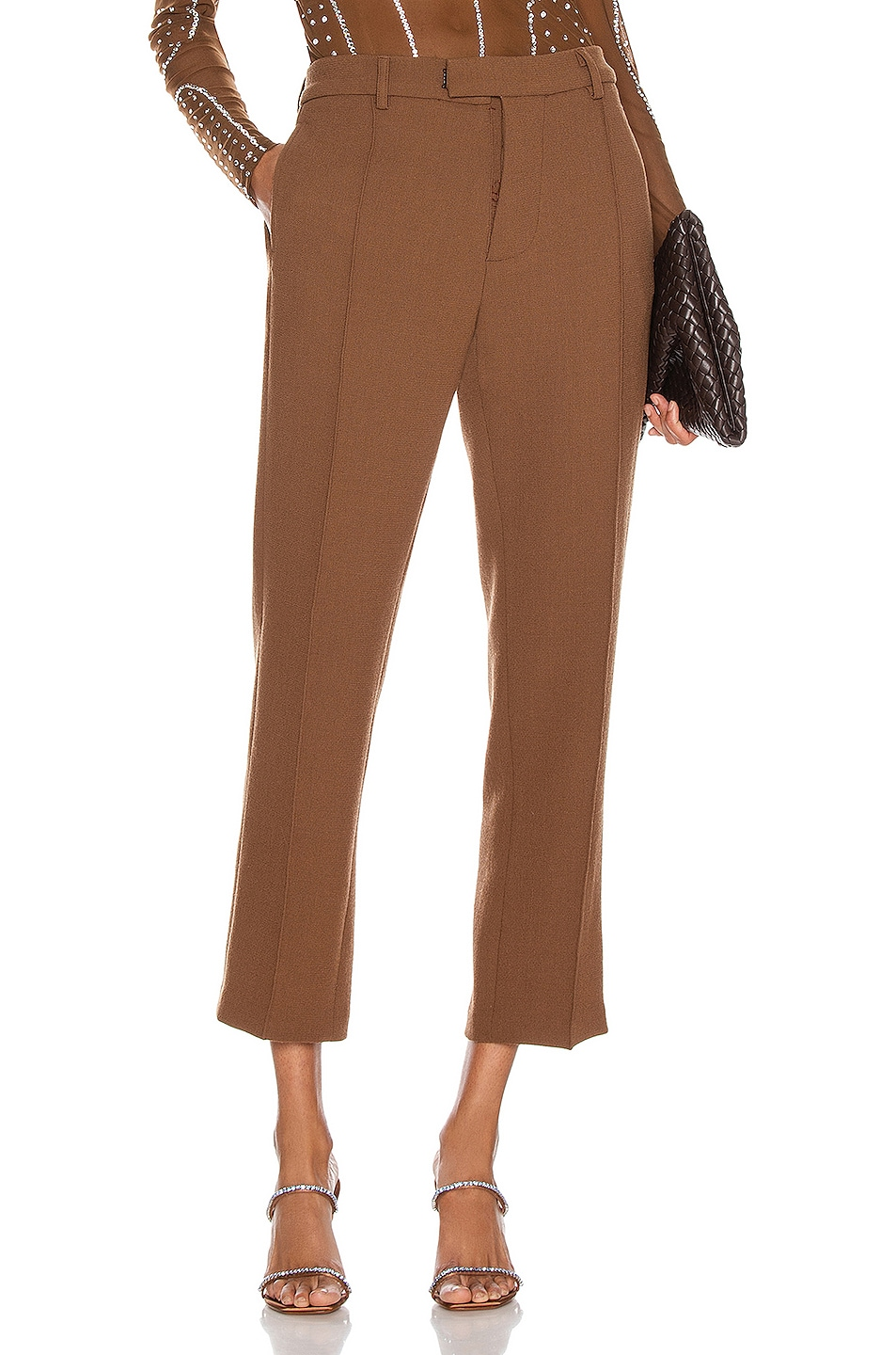 Image 1 of CHRISTIAN COWAN Tailored Pant in Neutral 13