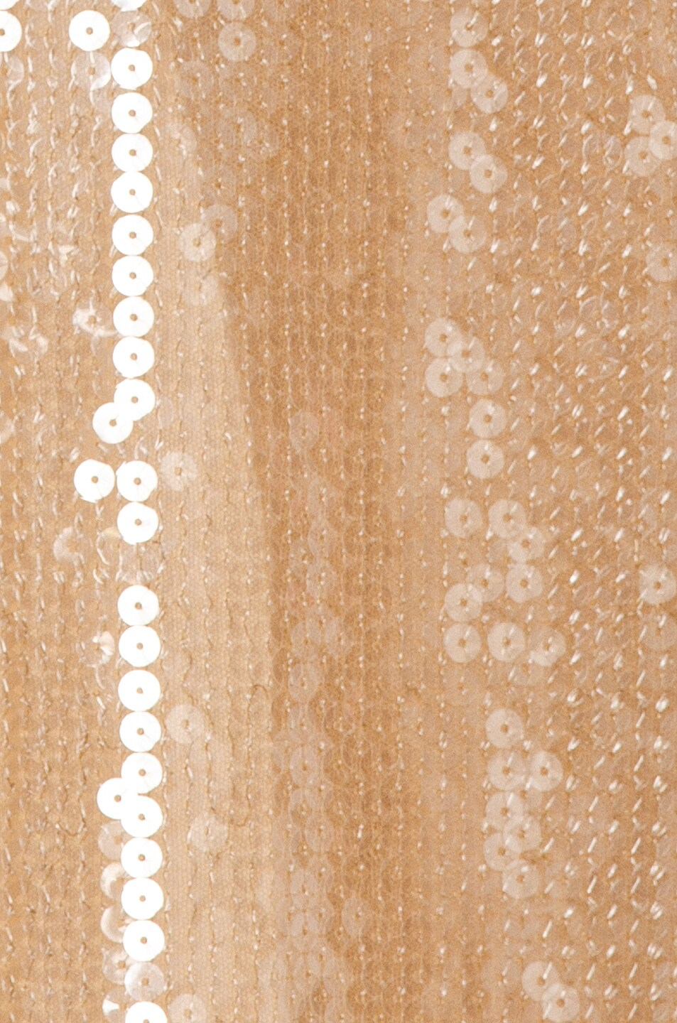 Image 4 of David Koma Sequins Bra Detail Gown in Beige