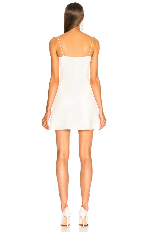 Image 4 of David Koma Crystal Mini Dress in White
