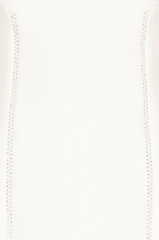 Image 5 of David Koma Crystal Mini Dress in White