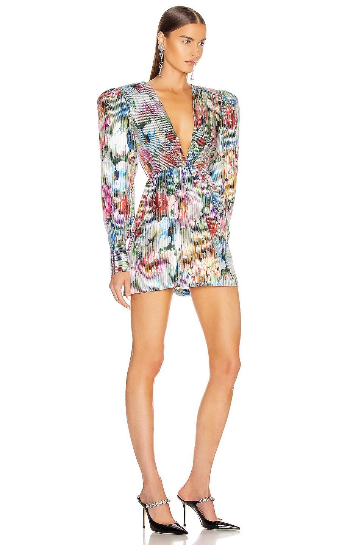 Image 2 of Daniele Carlotta Mini Dress in Flowers