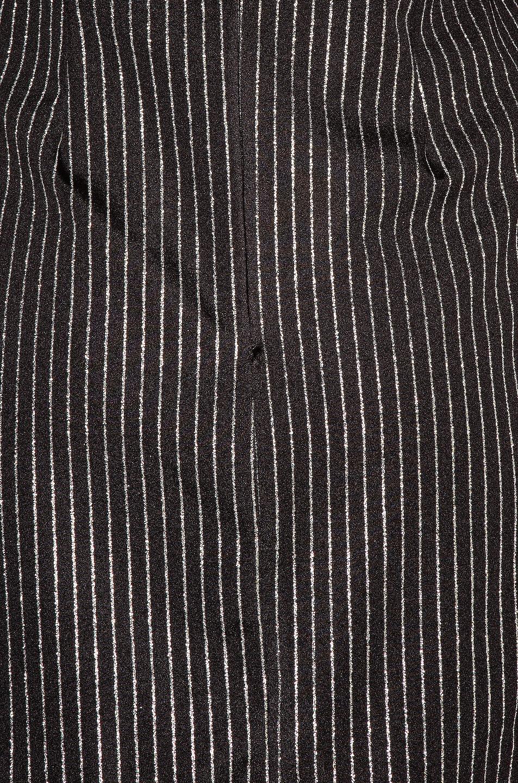 Image 5 of Daniele Carlotta Mini Dress in Black & Silver